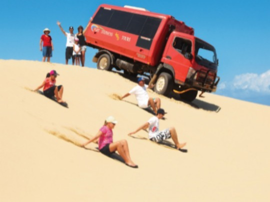Gift Experience for 4  years to 18 years old.Sandboarding Adventure Family